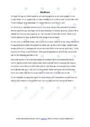 Blodhevn | Oppgave | 5 i karakter