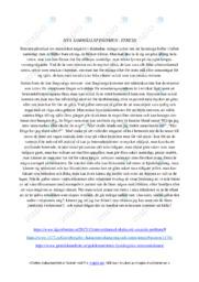 Nya samhällsfenomen | Stress | C i betyg