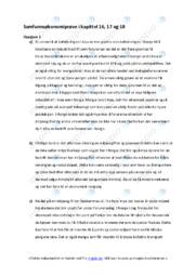 Samfunnsøkonomiprøve i kapittel 16, 17 og 18 | samfunnsøkonomi