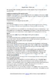 Organisk kjemi  | Oppgave | 5 i karakter